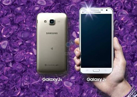 Samssung Galaxy J7 và J5 đi đầu công nghệ đèn Flash cho camera trước