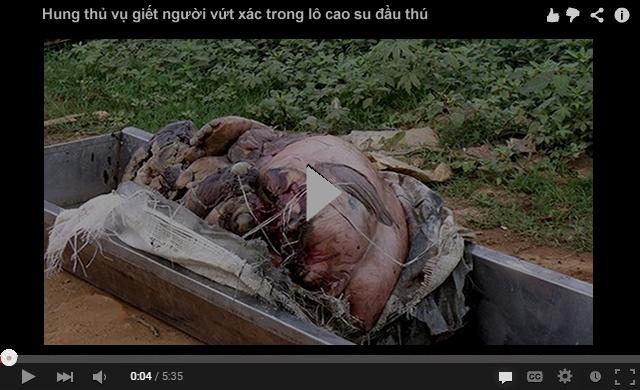 Hung thủ vụ giết người vứt xác trong lô cao su đầu thú